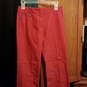 Size 2 red dress pants
